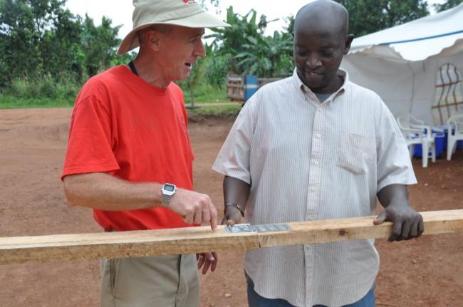 Glen Jackson in Uganda
